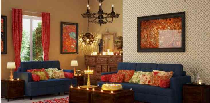 Rajasthani Style Interior Decoration Ideas To Furnish Your