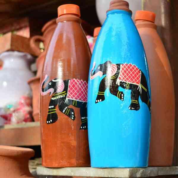 Earthen Bottles