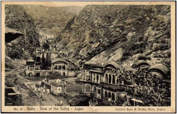 galta temple old photo