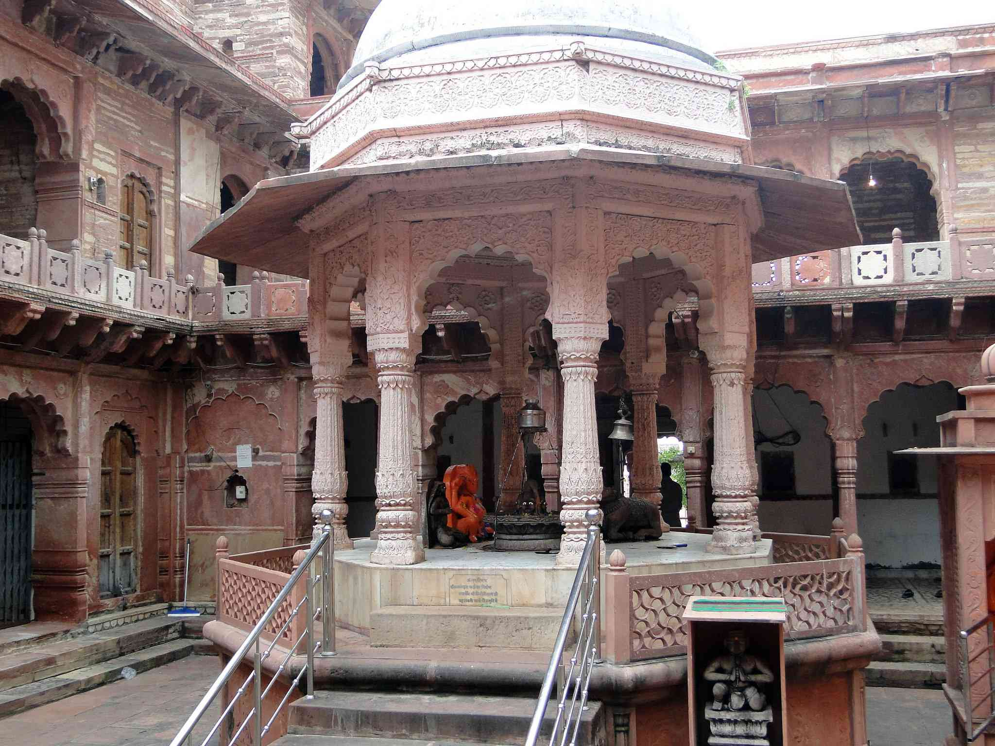 Machkund Temple, Dholpur