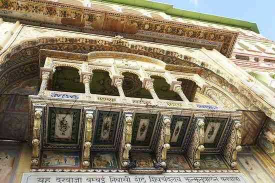 Rani Sati Temple Architecture