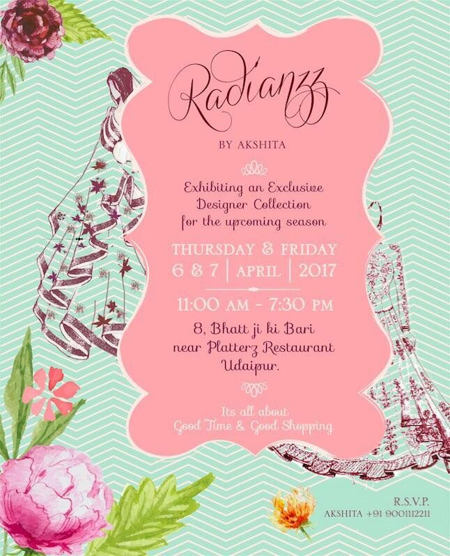 Radianzz by akshita a multi designer clothing exhibition stopboris Images