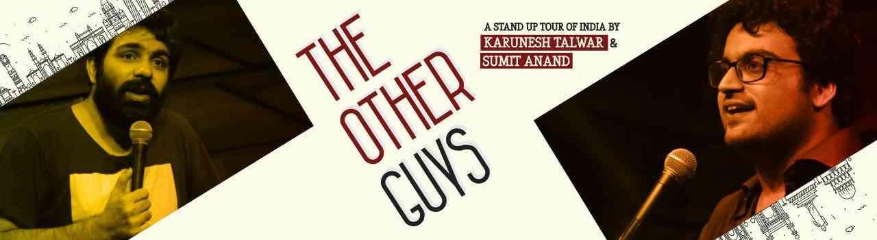 #TheOtherGuys #StandUpComedy #KaruneshTalwar #SumitAnand #Jaipur #Rajasthan