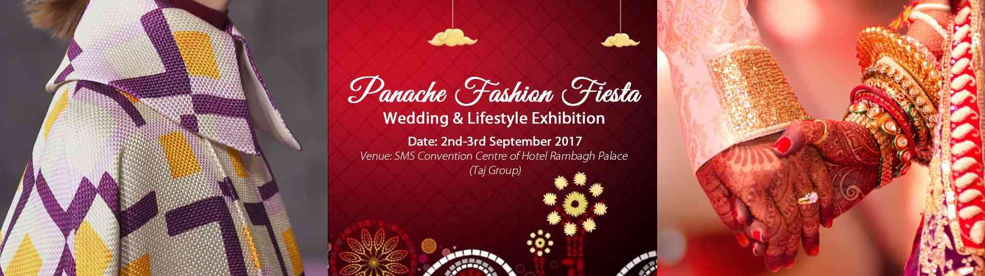 #panachefashionfiesta #panacheevents #weddingandlifestyleexhibition #hotelrambaghpalace