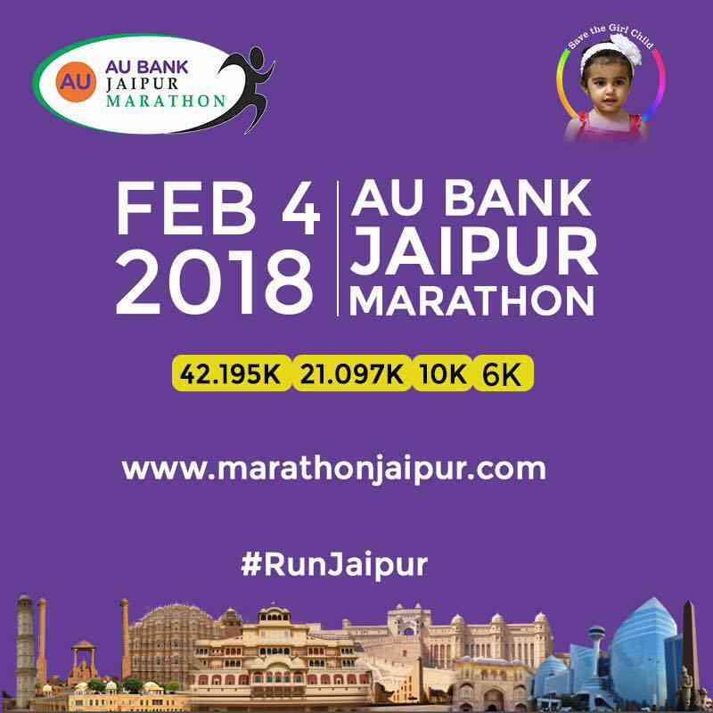 AU Bank Jaipur Marathon 2018