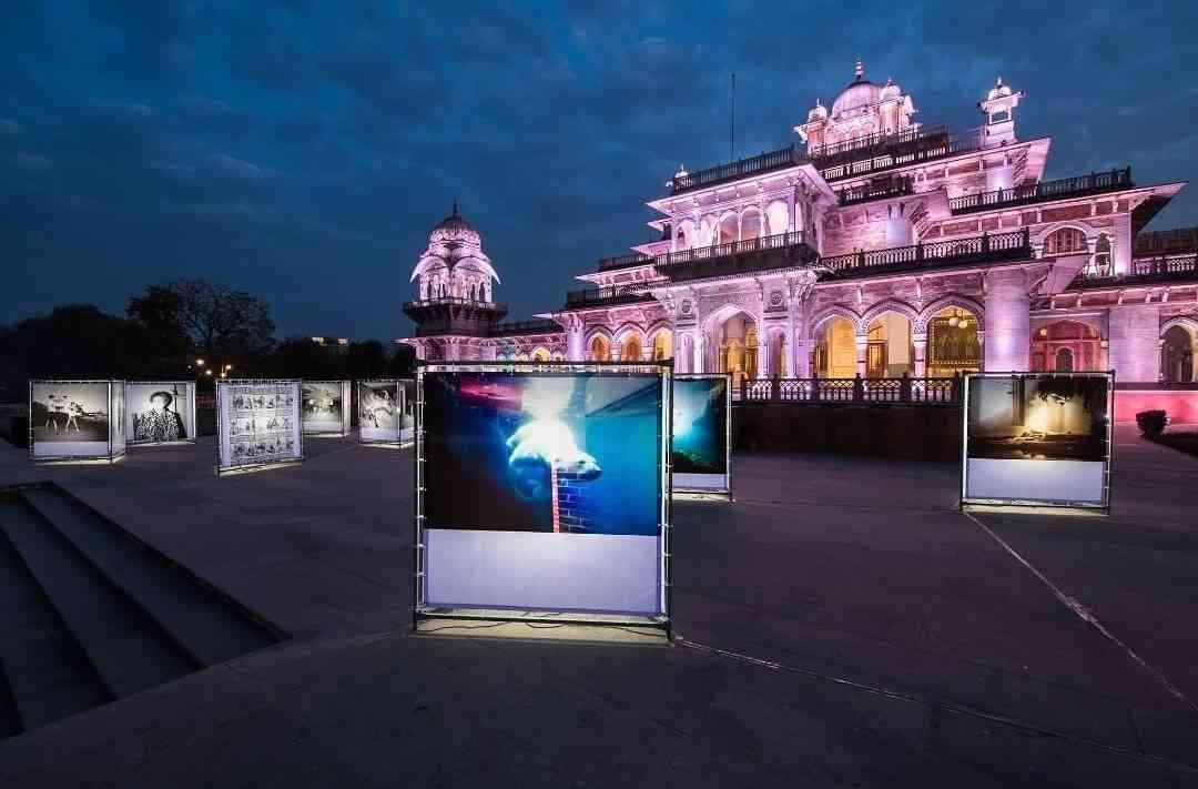 Albert Hall Museum feat. Asmita Parelkar and Sebastian Bruno's works #JaipurPhoto