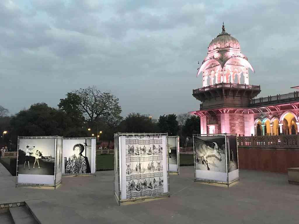 Albert Hall Museum exhibiting Sebastian Bruno's work #JaipurPhoto
