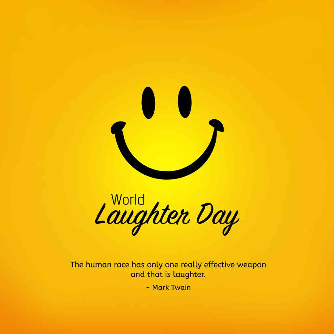 World Laughter Day Quote Mark Twain