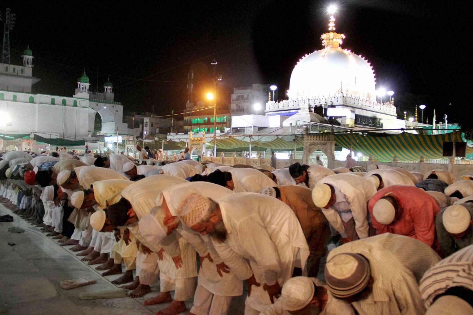 Taraweeh at Ajmer Dargah