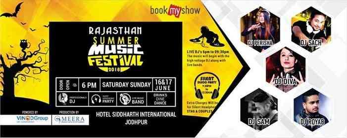 Rajasthan Summer Music Festival 2018