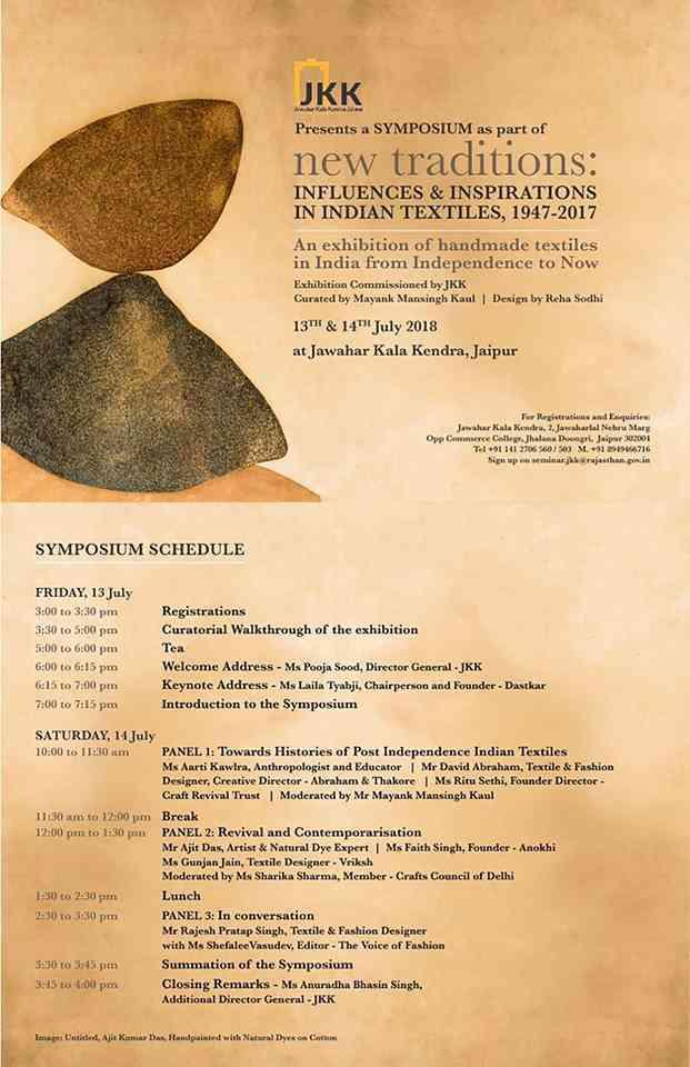 Symposium at Jawahar Kala Kendra