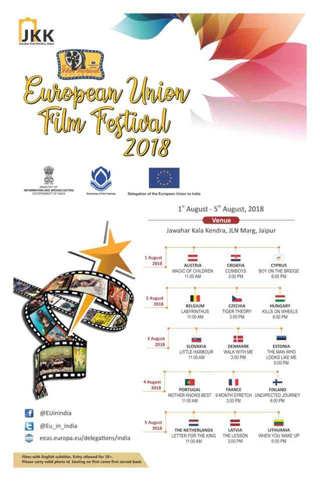 European Union Film Festival 2018