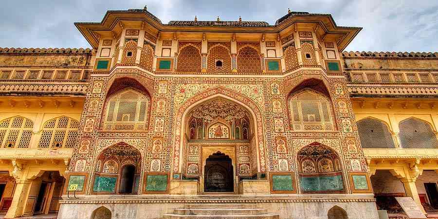 Ganesh Pol in amber fort, Jaipur