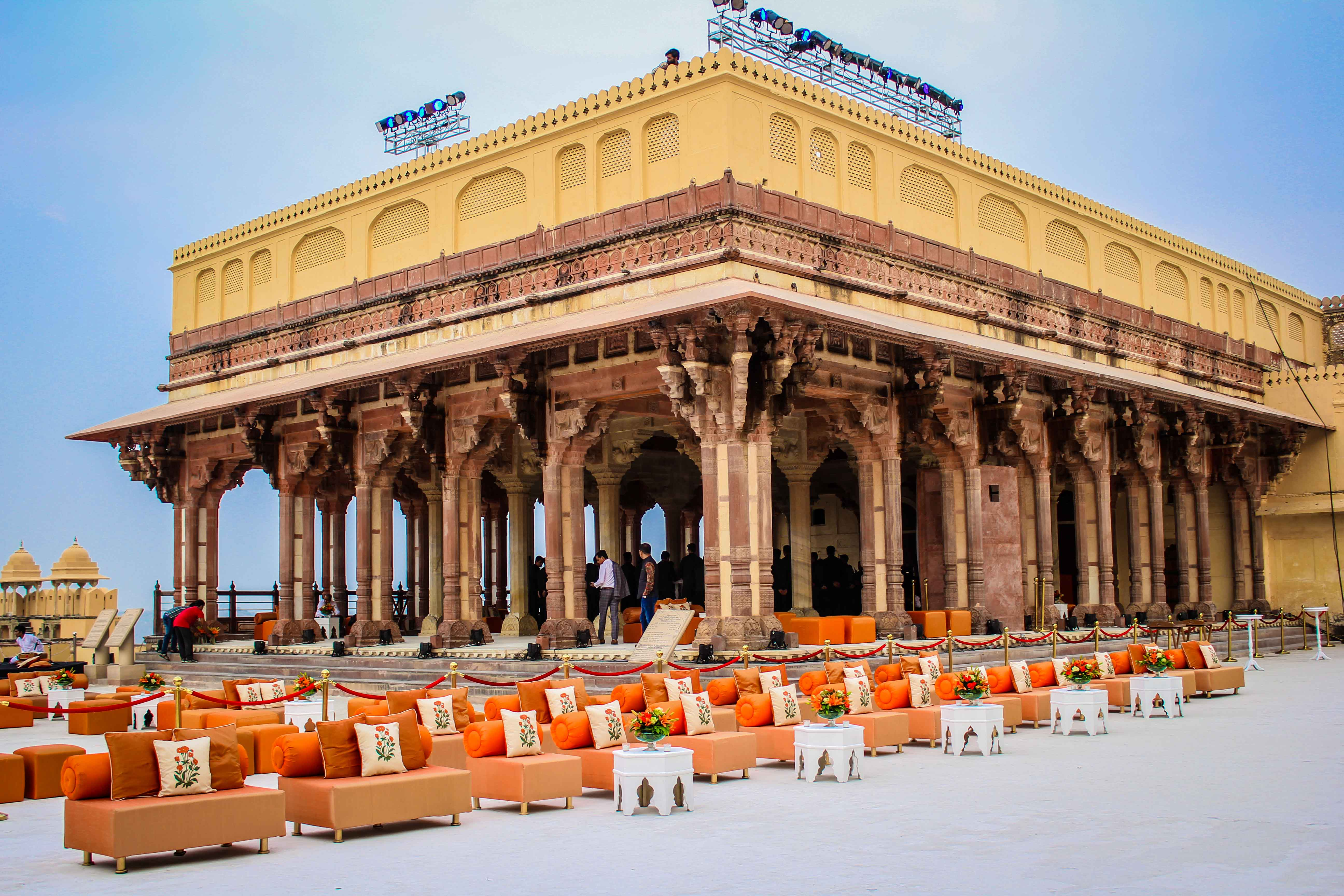 launch of bonjour india at amer fort